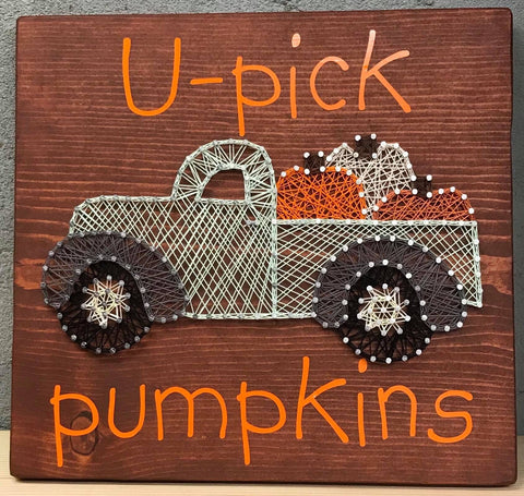 U-pick pumpkins