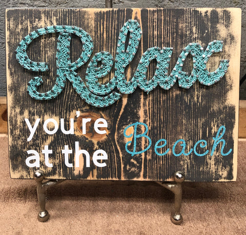 Relax, you're at the beach!