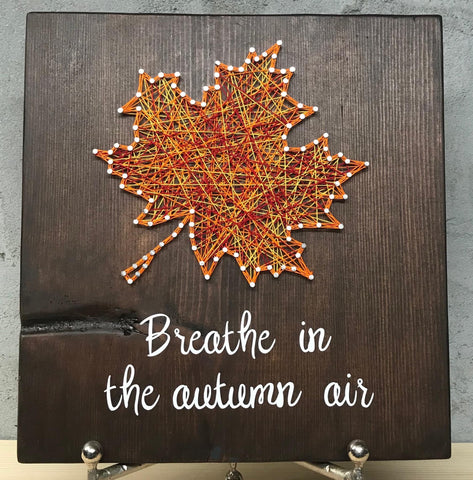 Breathe in the autumn air