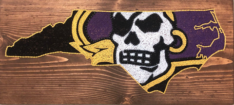 ECU pirate NC outline