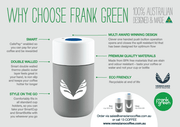 FRANK GREEN REUSABLE CUP