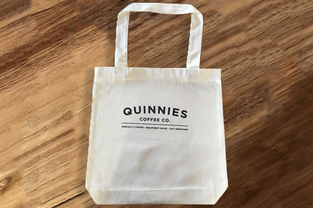 Tote Bag - Quinnies Coffee Co Print (100% Cotton)