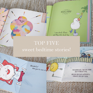 Five Sweet Bedtime Stories