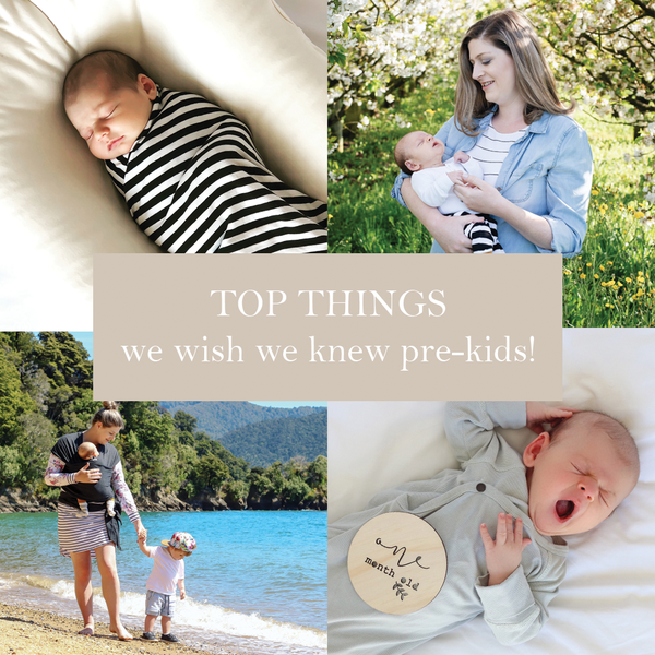 First Milestone | Top things we wish we knew before having babies blog cover photo