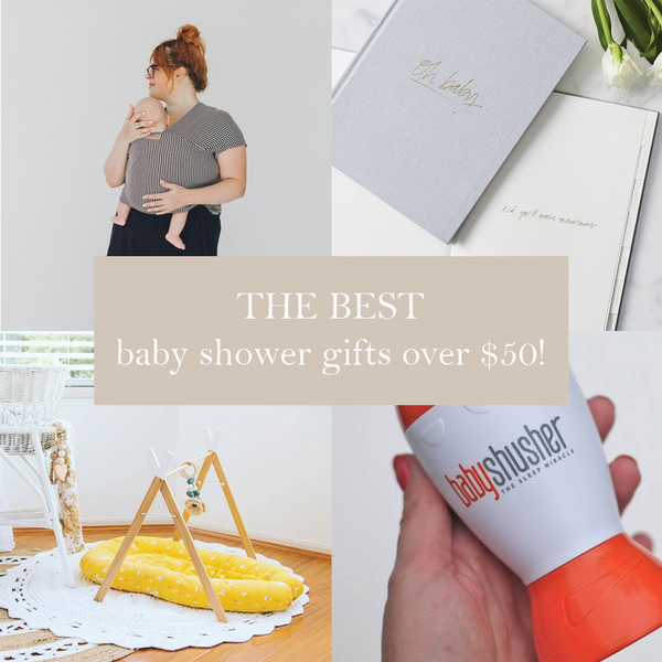 First Milestone | Baby shower gifts over $50