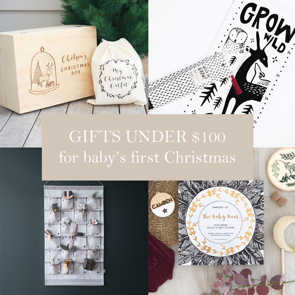 First Milestone | Baby's first Christmas gifts under $100