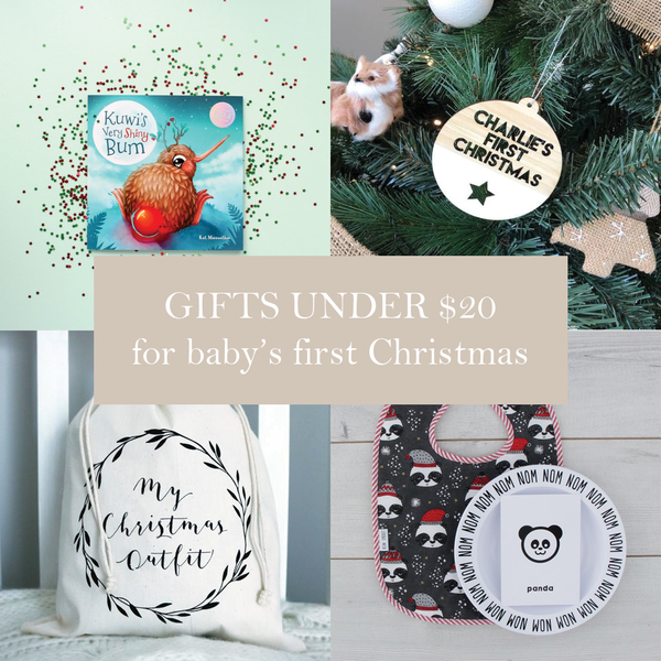 First Milestone | Baby's first Christmas gifts under $20
