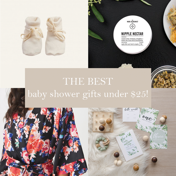 First Milestone | The best baby shower gifts for under $25