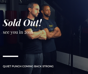 Quiet Punch back in Stock in January