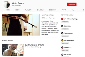 Quiet Punch YouTube Channel