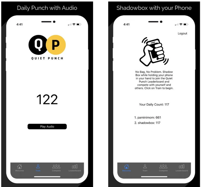 The Quiet Punch Apps