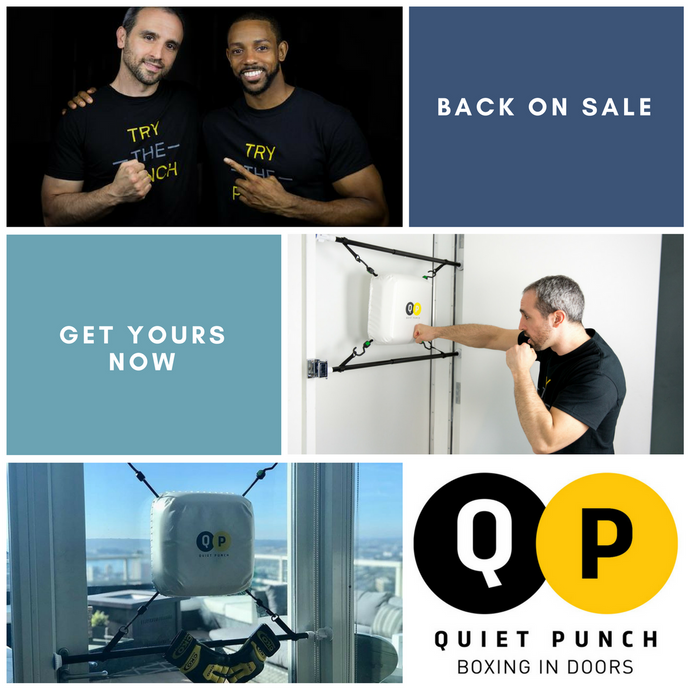 Quiet Punch back in Stock