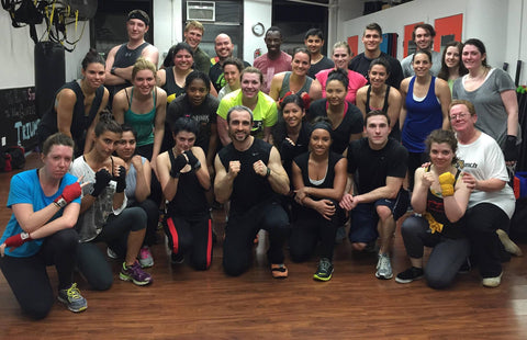 Brian Pedone with Boxing Group in NYC