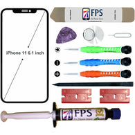 iPhone 11 Glass Screen Repair Replacement KIT + Tools + Loca UV Glue 5ml. - Fix Phone Store