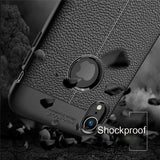 For Apple iPhone 7 8 Plus X XS Shockproof Rubber Slim TPU Leather Case Cover - Fix Phone Store