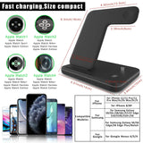 3 In 1 Wireless Charger Stand Station | Fix Phone Store - Fix Phone Store