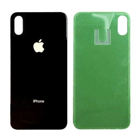 OEM Battery Cover Glass Housing Rear Back Door Replacement Part iPhone X - Fix Phone Store