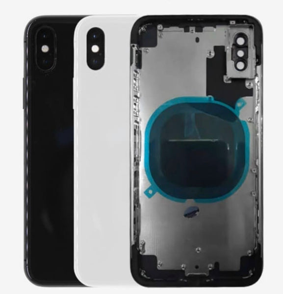 OEM Replacement Back Housing Frame Battery Glass Door Cover Fits Apple iPhone X or XS - Fix Phone Store