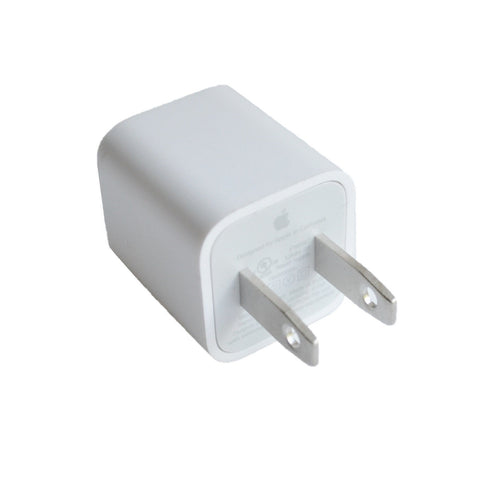 Original Genuine 5W USB Wall Charger Cube Power Adapter for Apple iPhone iPod 5 6 7 8 Plus X