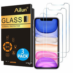 Premium Tempered Glass Screen Protector for Apple iPhone 11 - 11 Pro - 11 Pro Max - Fix Phone Store
