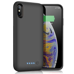 Portable Qi Wireless Fast Charger Charging Battery Case For iPhone X XS 5200mAh - Fix Phone Store