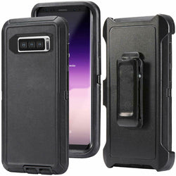 For Samsung Galaxy S10 / S10+ / S10e Defender Rugged Case Cover {Clip fits Otterbox Defender} - Fix Phone Store