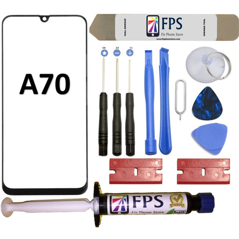 For Samsung Galaxy A70 A705 Replace Front Glass Screen Outer Lens + Tool Glue - Fix Phone Store