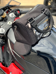 """The Charlotte"" Motorcycle Tank Purse by SportBike Chic - SportBike Chic"