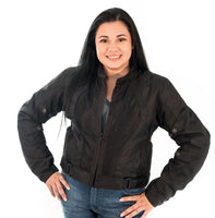 Mesh Motorcycle Jacket for Women - SportBike Chic