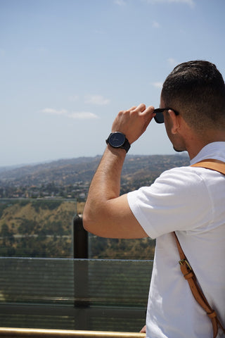 JetsetTimes exploring LA with BLAAX watches