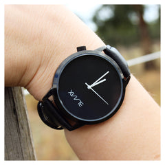 black and white minimal timepiece shadow BLAAX