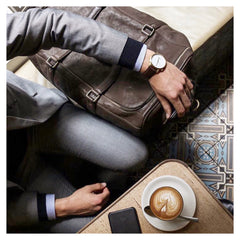 Hawker leather watch