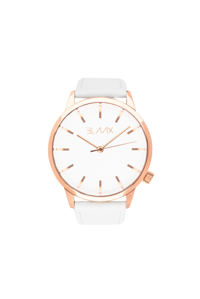 White / Rose Gold - 44mm
