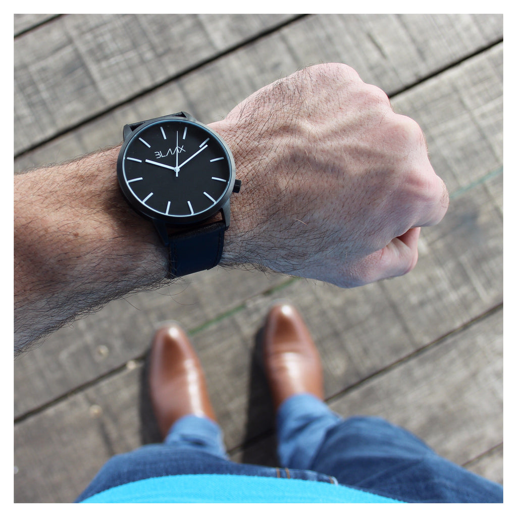 BLAAX New York watch with Brock Wells