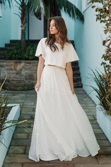 6 Trendsetting Long Skirt and Top For Weddings