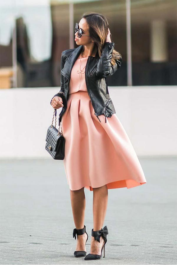5 Ways To Dress Modestly With Leather Jackets