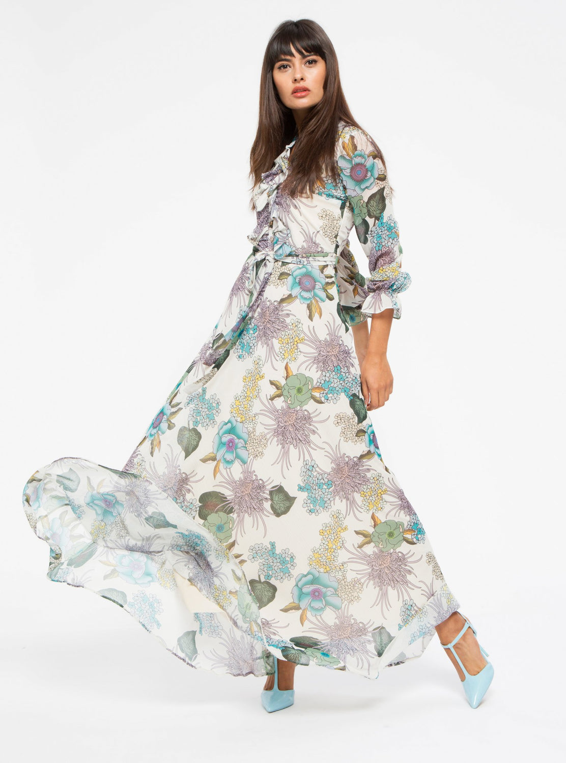 74e1628fe8612 Long Sleeve Modest Floral Dress