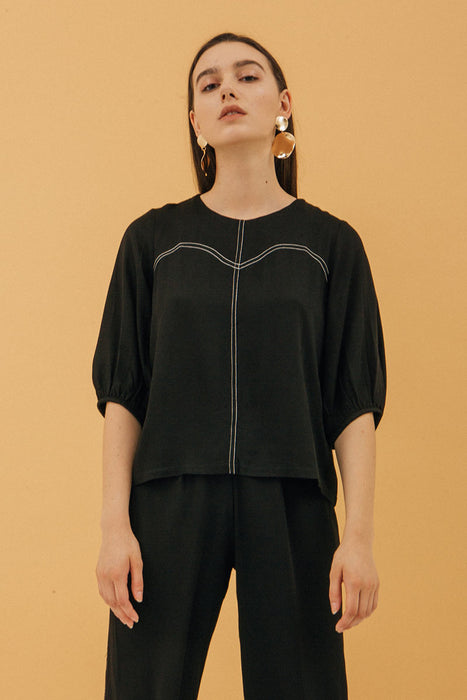 Rosey Blouse In Black