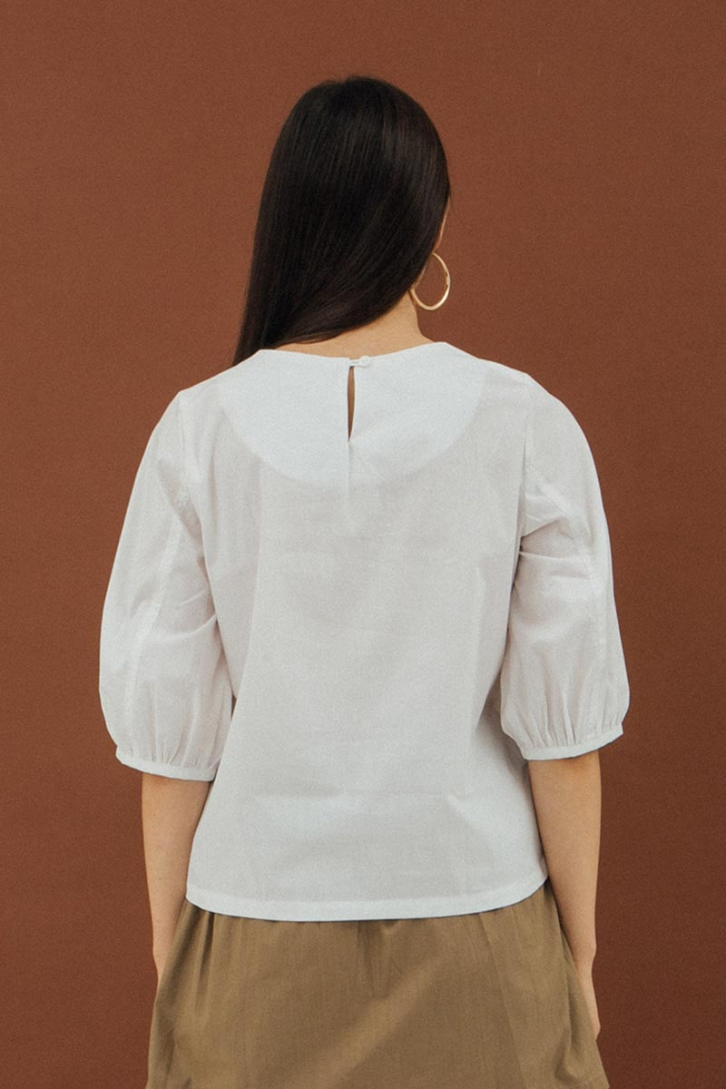Rosey Blouse In White