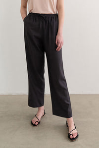 Natural Banding Pants Charcoal