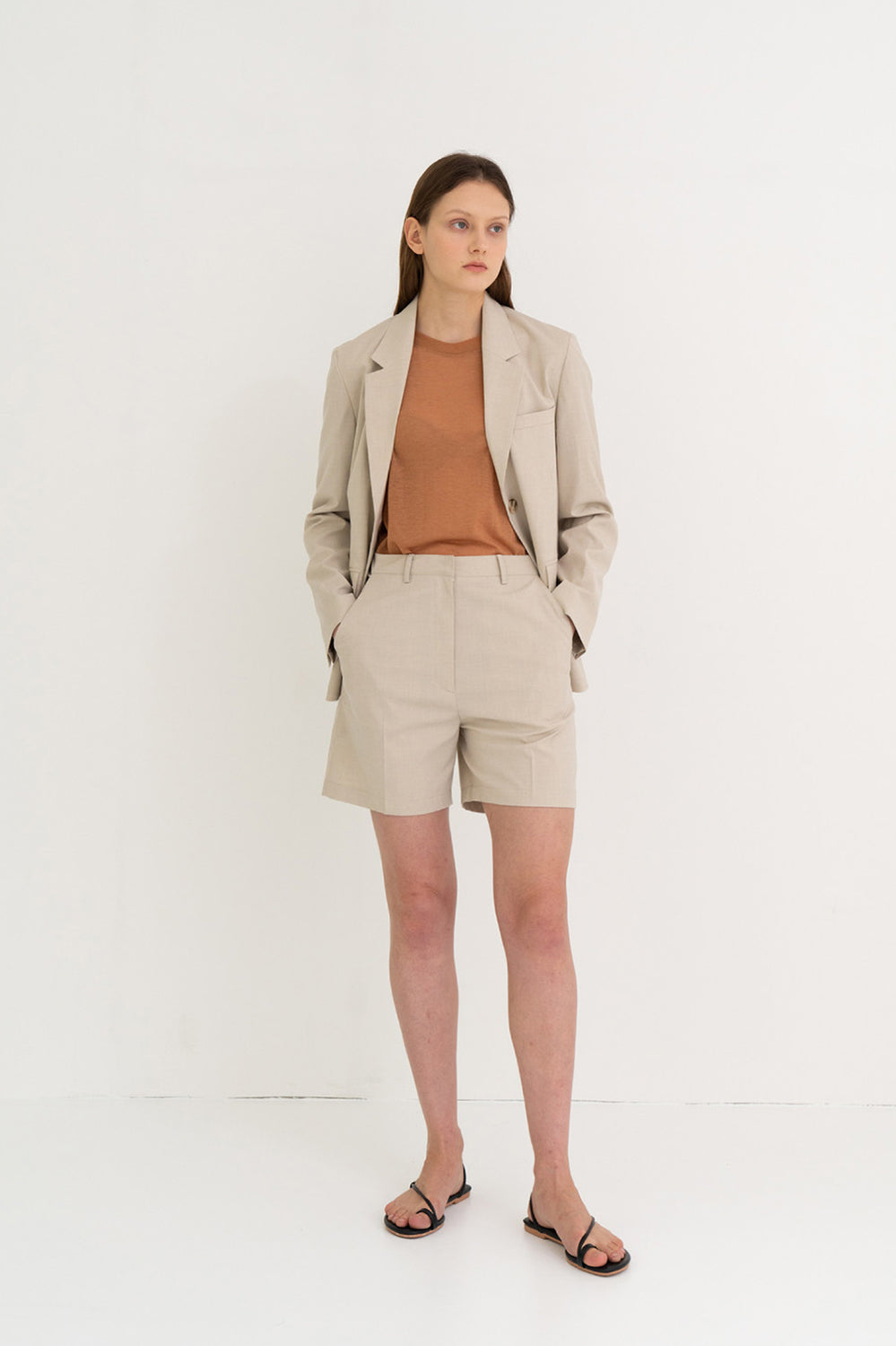 Light Summer Jacket Beige