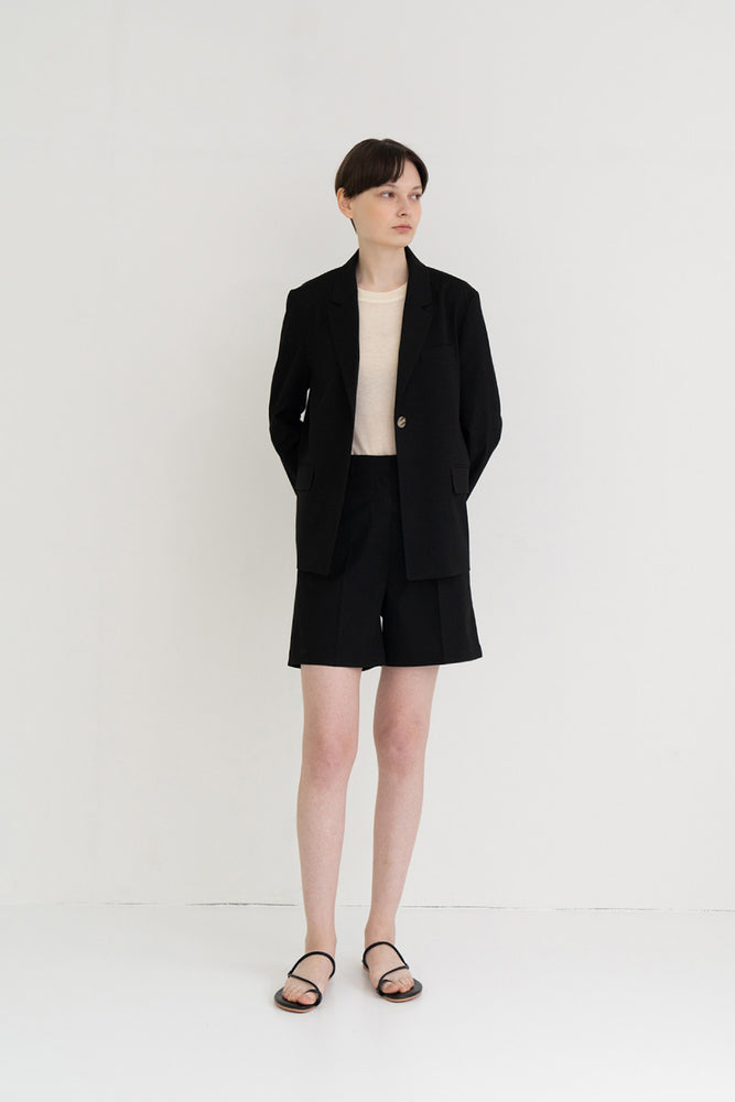 Light Summer Jacket Black