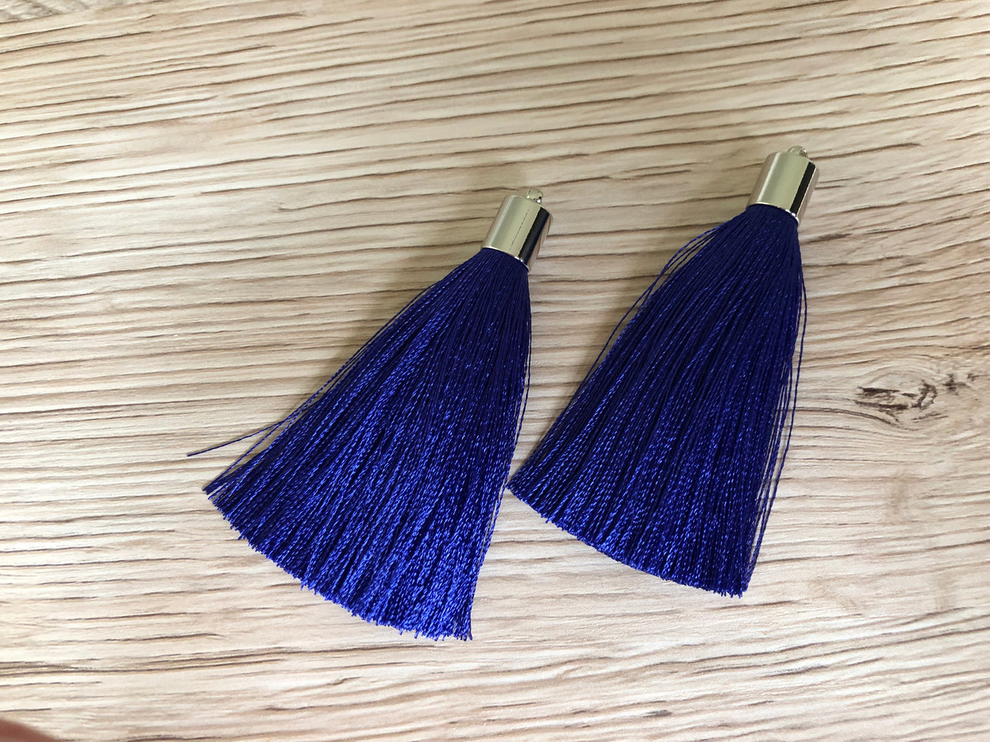 Royal Blue Butterfly Tassels