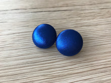 Metallic Royal Blue Studs