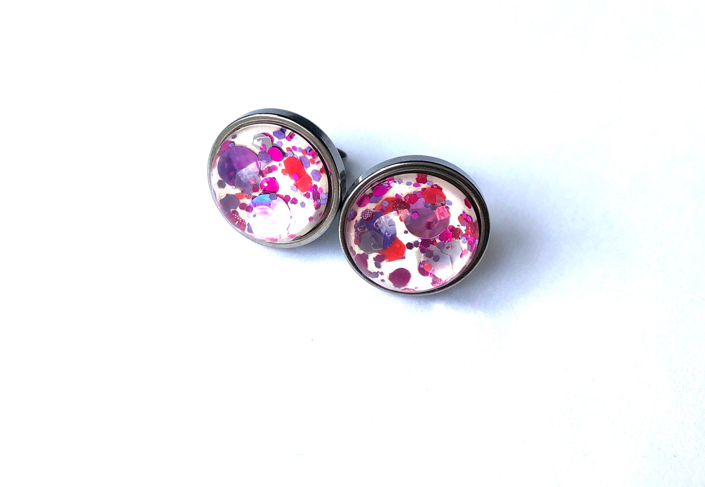 Girls Day Out Glass Studs