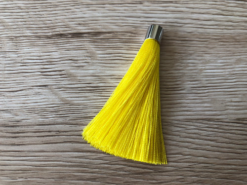 Bright Yellow Butterfly Tassels