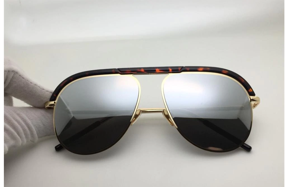 2019 Latest Designer Oversized Luxury Brand Shades Mirror Trendy Summer Vintage Retro Sun Glasses