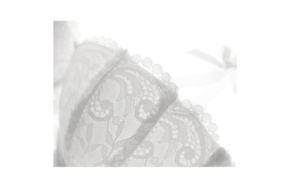 Bra Cups white lace