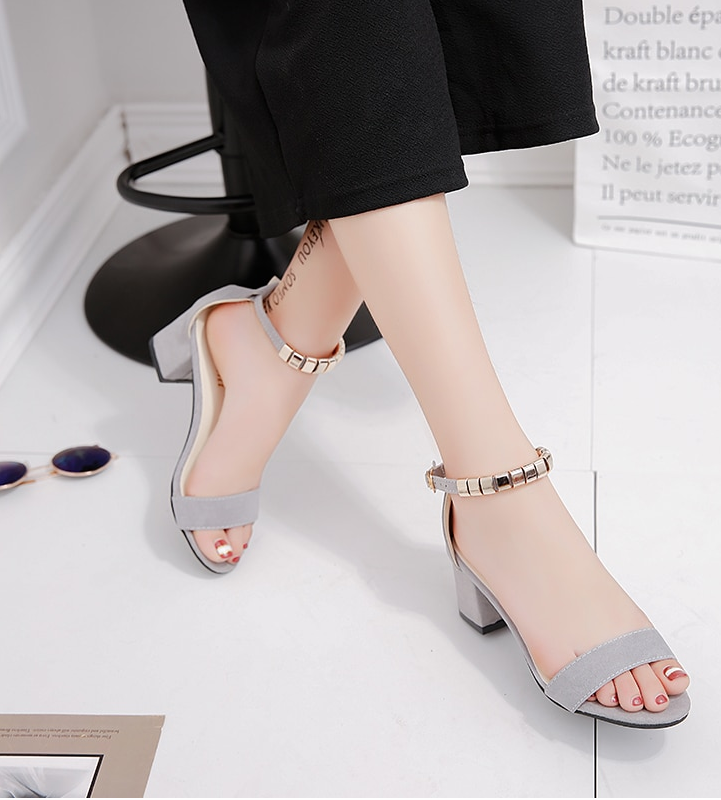 Summer Sandals ash color