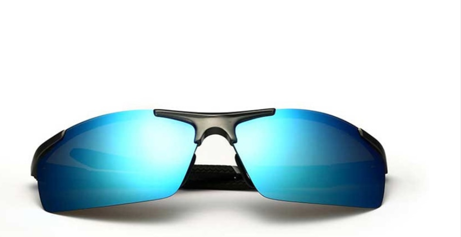 Sun-glass blue